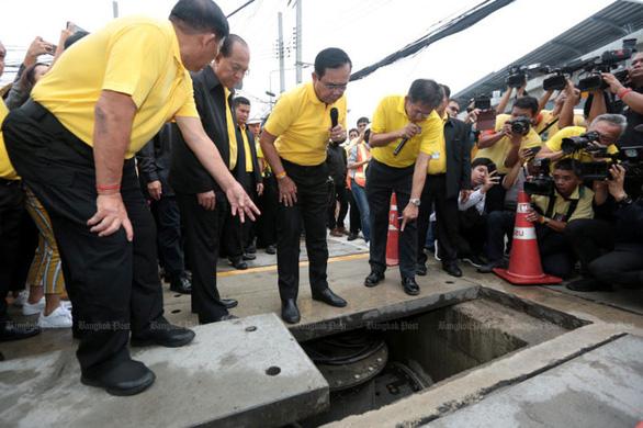 Thái Lan xây dựng ngân hàng nước ở Bangkok để chống ngập lụt - Ảnh 1.