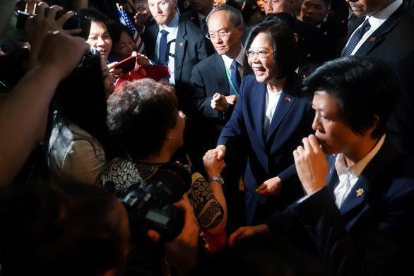 Bất chấp Trung Quốc phản đối, lãnh đạo Đài Loan công khai tới Mỹ - Ảnh 1.