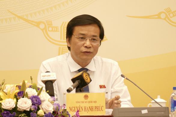 Kỳ vừa rồi có phiên họp Quốc hội vắng tới 100 đại biểu - Ảnh 1.