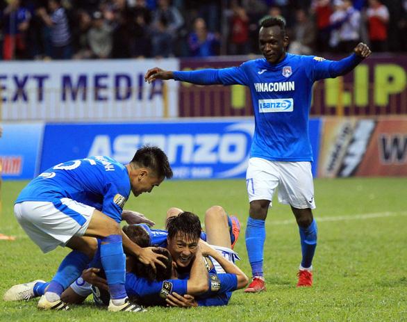 Thua đậm Quảng Ninh, HAGL có trận thứ 8 không biết thắng - Ảnh 1.