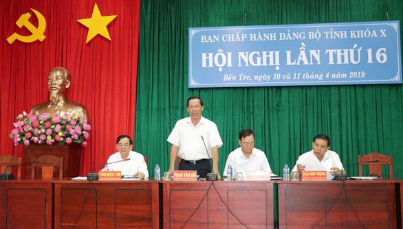Bầu ông Phan Văn Mãi làm bí thư Tỉnh ủy Bến Tre - Ảnh 1.