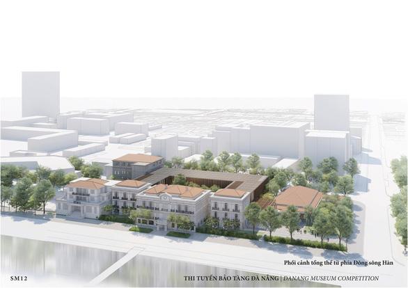 Công ty Singapore đoạt giải nhất thiết kế Bảo tàng Đà Nẵng - Ảnh 1.