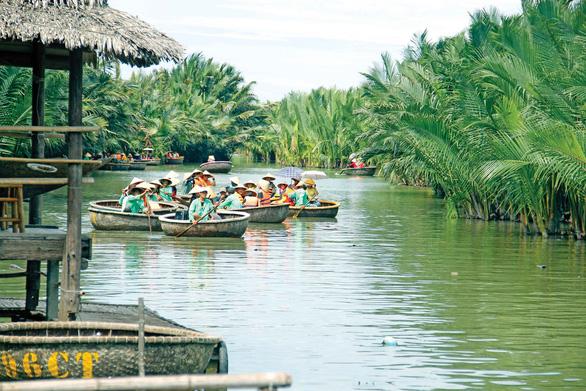 Sông Cổ Cò là đường tơ lụa nối Hội An và Đà Nẵng - Ảnh 1.