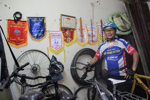 Thực hiện ước mơ ở tuổi xế chiều - Kỳ 4: Ông xe đạp - Ảnh 1.