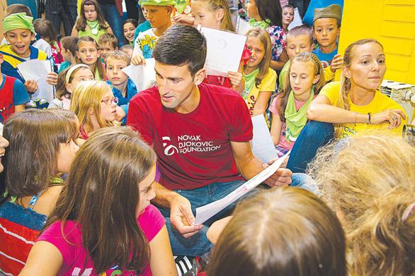 Novak Djokovic: nhà vô địch của trẻ mẫu giáo - Ảnh 1.