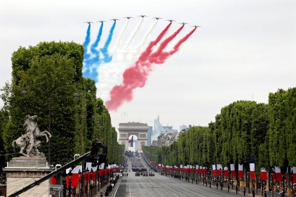 Sức mạnh quân sự đáng gờm của Pháp khi duyệt binh mừng Quốc khánh - Ảnh 1.