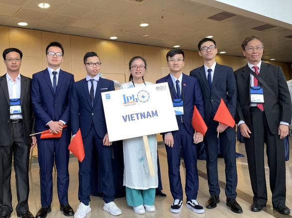 Cô gái vàng Việt Nam ở Olympic vật lý quốc tế 2019 - Ảnh 1.