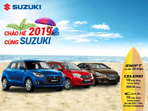 Suzuki triển khai chương trình khuyến mãi 'Chào hè 2019 cùng Suzuki' - Ảnh 1.