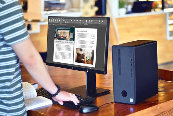 Synnex FPT giới thiệu bộ máy bàn cho văn phòng vừa và nhỏ - Ảnh 3.