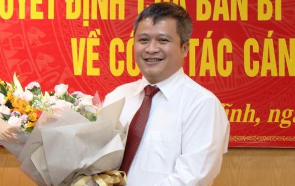 Hà Tĩnh có tân chủ tịch UBND 43 tuổi - Ảnh 1.