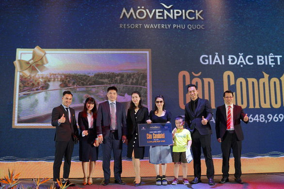 Tìm ra chủ nhân trúng giải căn Condotel Movenpick Resort Waverly Phú Quốc hơn 3 tỷ đồng - Ảnh 3.