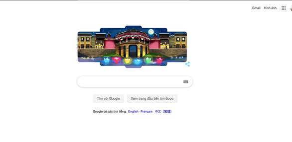 Phố cổ Hội An được Google vinh danh trên trang chủ cỗ máy tìm kiếm - Ảnh 1.