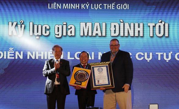 Kỷ lục gia thế giới Mai Đình Tới tổ chức đêm tri ân miễn phí - Ảnh 1.