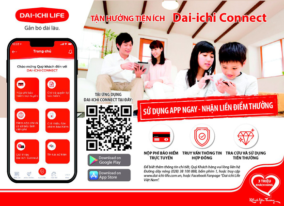 Ra mắt ứng dụng Dai-ichi Connect - Ảnh 2.