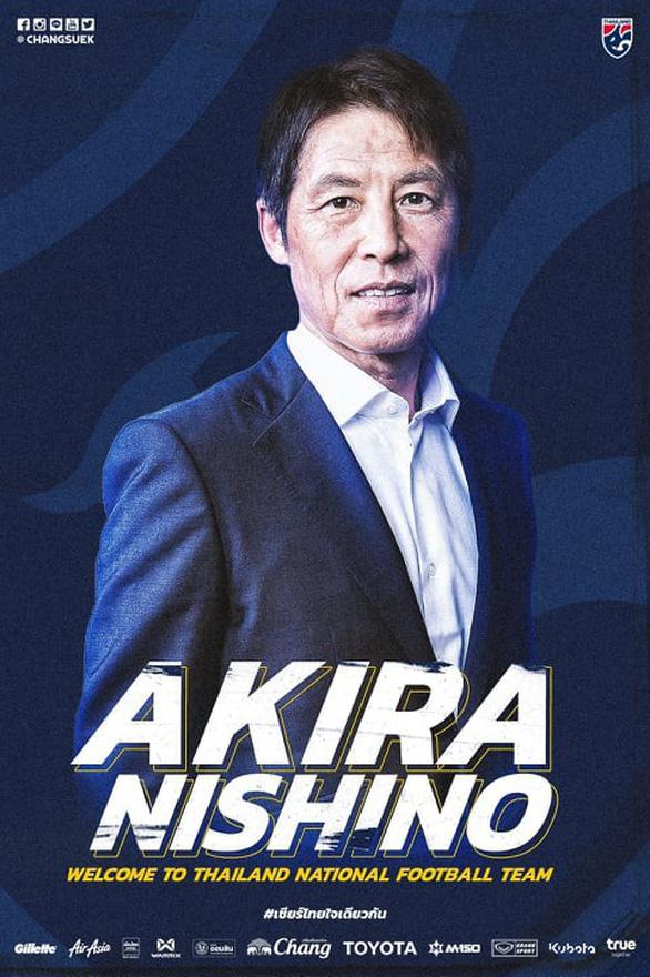 HLV Nishino chính thức dẫn dắt tuyển Thái Lan, hợp đồng sẽ ký ngày 19-7 - Ảnh 3.
