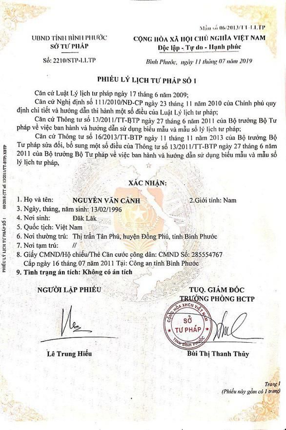 Vụ sinh viên TP.HCM bỗng có án: TAND Quảng Ninh khẳng định có xử bị cáo Nguyễn Văn Cảnh - Ảnh 3.