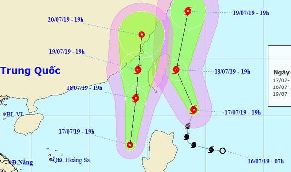 Biển Đông bị áp thấp nhiệt đới mới, khả năng thành bão - Ảnh 1.