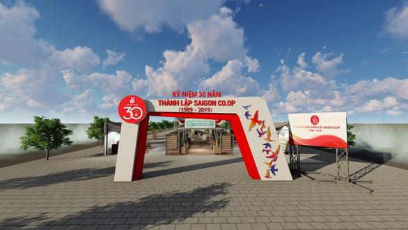 Saigon Co.op mở cửa siêu thị ảo trên phố đi bộ Nguyễn Huệ - Ảnh 1.