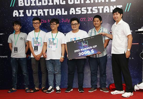ĐH Duy Tân đoạt giải nhì tại Hackathon Vietnam AI Grand Challenge 2019 miền Trung - Ảnh 1.