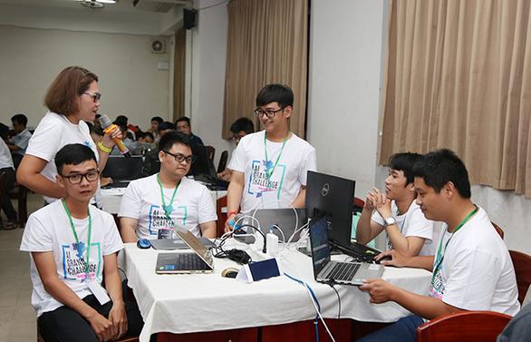 ĐH Duy Tân đoạt giải nhì tại Hackathon Vietnam AI Grand Challenge 2019 miền Trung - Ảnh 2.
