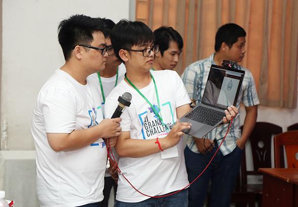 ĐH Duy Tân đoạt giải nhì tại Hackathon Vietnam AI Grand Challenge 2019 miền Trung - Ảnh 3.