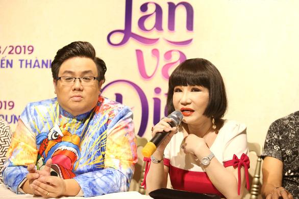 Thanh Kim Huệ lần đầu đóng Lan và Điệp trên sân khấu - Ảnh 5.