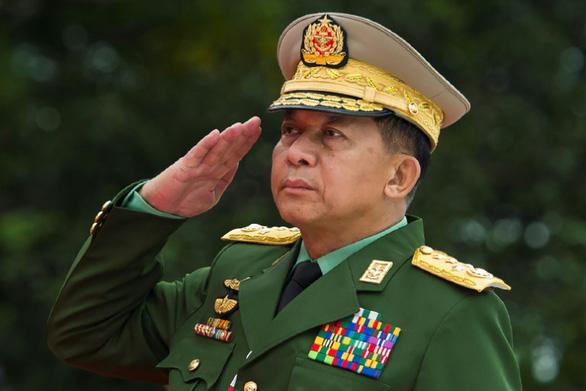 Mỹ trừng phạt các lãnh đạo quân sự Myanmar - Ảnh 1.