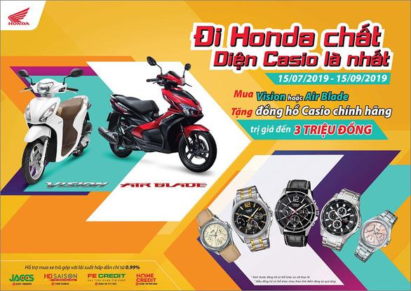 Rinh quà hấp dẫn cùng Honda VISION 110cc và Air Blade 125cc - Ảnh 1.