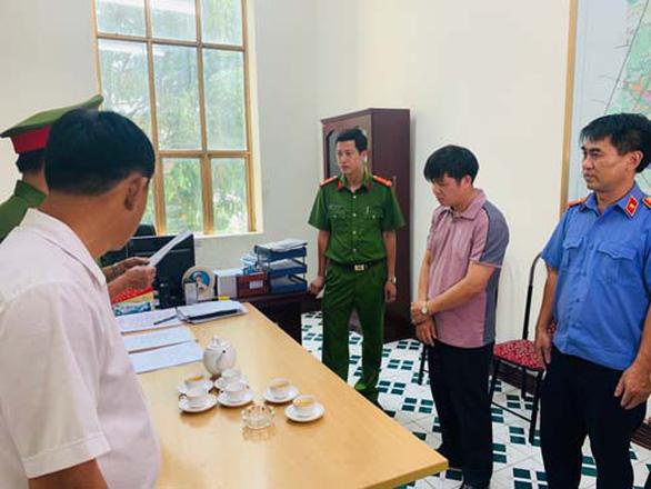 Bắt tạm giam phó giám đốc Ban giải phóng mặt bằng và tái định cư TP Thanh Hóa - Ảnh 2.