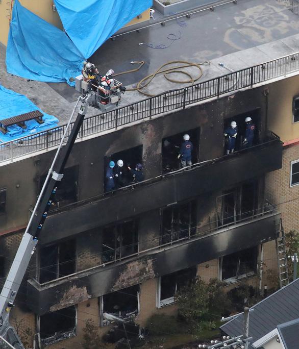 Nghi phạm hét lớn Chết đi! khi đốt xưởng hoạt hình Nhật làm 33 người chết - Ảnh 3.