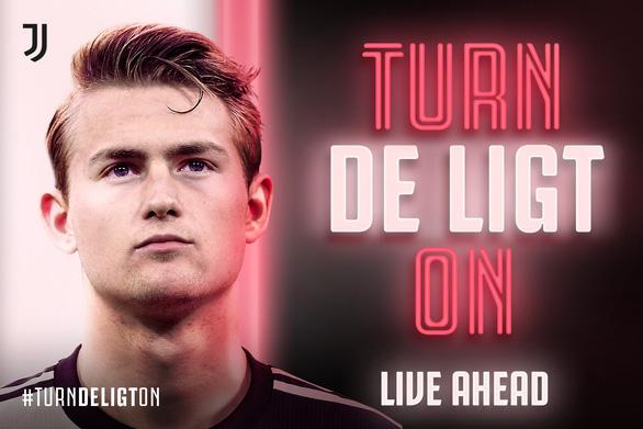 Tin Mibet: De Ligt chính thức gia nhập Juventus: 19 tuổi, 75 triệu euro