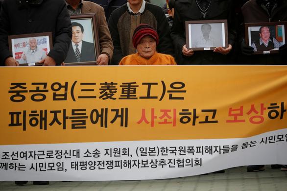Nhật lại chỉ trích Hàn Quốc về vấn đề lao động thời chiến - Ảnh 1.