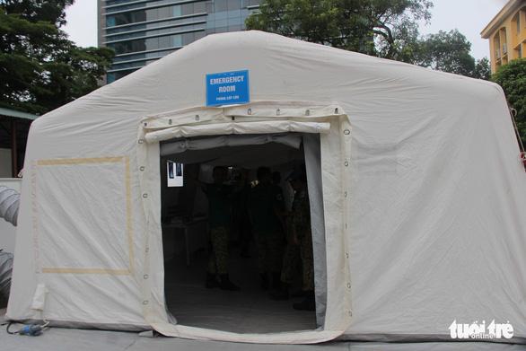 Việt Nam làm bệnh viện dã chiến không rác thải nhựa đưa sang Nam Sudan - Ảnh 4.