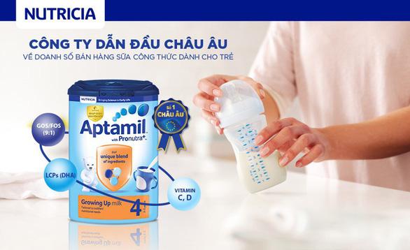 Aptamil chính thức gia nhập thị trường sữa Việt Nam - Ảnh 1.
