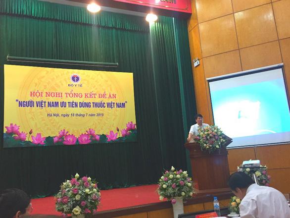 Tổng kết đề án Người Việt Nam ưu tiên dùng thuốc Việt Nam - Ảnh 1.