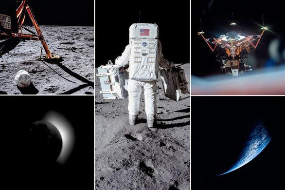 Những hình ảnh chưa từng công bố về sứ mệnh Apollo 11 - Ảnh 1.