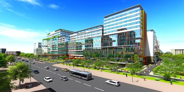 Xây dựng 3 khối nhà mới giảm tải cho Bệnh viện Nhi đồng 1 - Ảnh 1.