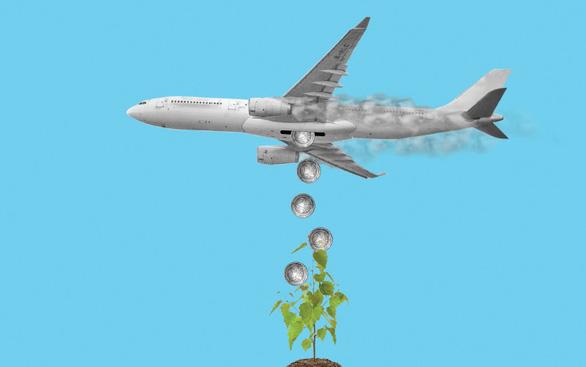 Hạn chế đi máy bay để bảo vệ môi trường? - Ảnh 1.