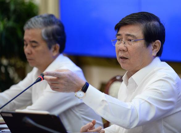 Chủ tịch Nguyễn Thành Phong: Chuyển đổi công nghệ xử lý rác quá chậm - Ảnh 1.