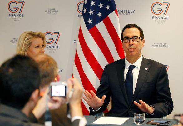 Bộ trưởng Tài chính Mnuchin: Mỹ - Trung có khả năng nối lại đàm phán trực tiếp - Ảnh 1.