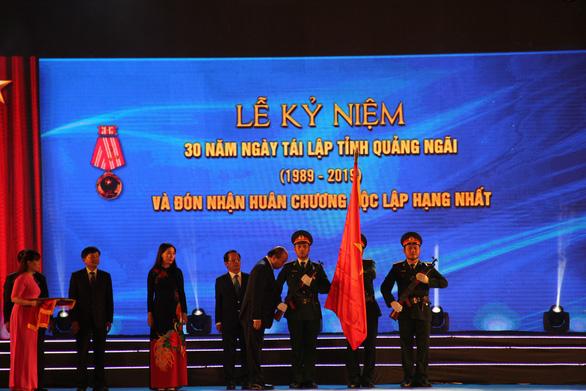 Quảng Ngãi đón nhận Huân chương Độc lập hạng nhất - Ảnh 3.