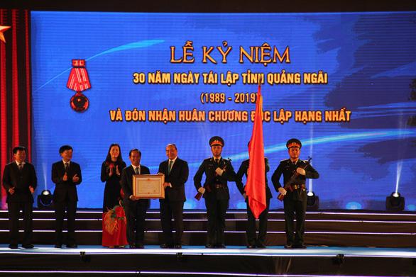 Quảng Ngãi đón nhận Huân chương Độc lập hạng nhất - Ảnh 4.
