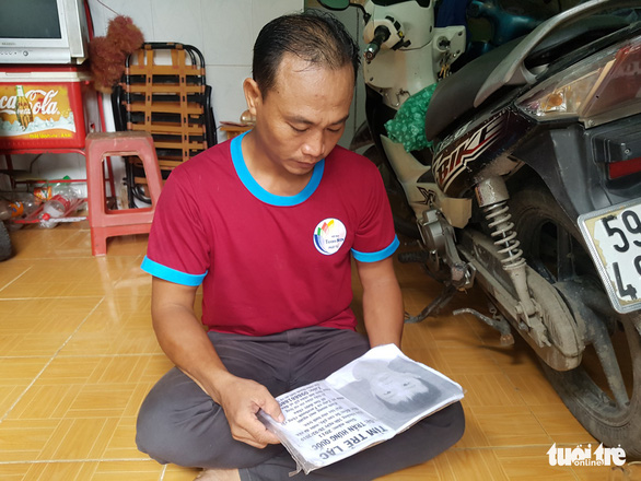 Người cha nghèo 4 tháng ròng rã tìm con trai 8 tuổi lạc giữa Sài Gòn - Ảnh 2.