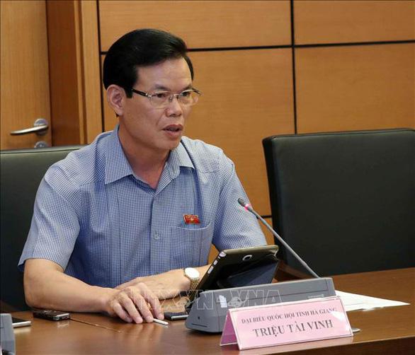 Ông Triệu Tài Vinh thôi bí thư Hà Giang, về làm phó trưởng Ban Kinh tế trung ương - Ảnh 1.