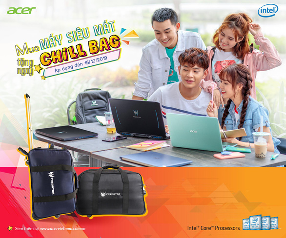 Acer khuyến mãi lớn nhân mùa tựu trường Back To School - Ảnh 6.
