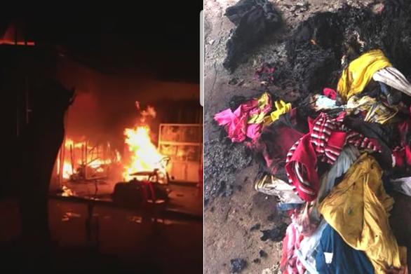 Bị ném bom xăng vào nhà, mẹ phỏng nặng, con gái 4 tuổi may thoát kịp - Ảnh 1.