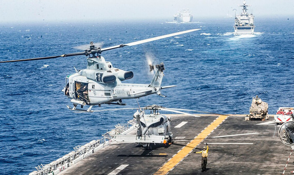 Điềm gở tại eo biển Hormuz - Ảnh 1.