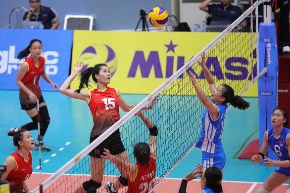 Bóng chuyền nữ Việt Nam thua Triều Tiên ở bán kết U23 châu Á - Ảnh 1.