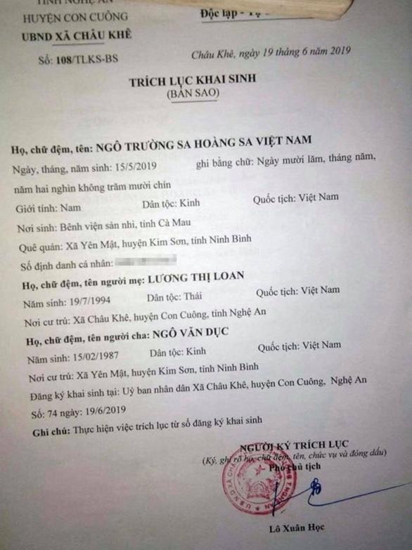 Hai anh em ruột mang tên Hoàng Sa Trường Sa Việt Nam, Trường Sa Hoàng Sa Việt Nam - Ảnh 3.