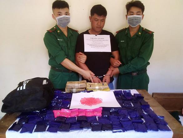 Bắt một người Lào trong đường dây ma túy xuyên quốc gia ở Quảng Bình - Ảnh 1.